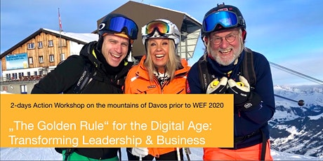 The Golden Rule for the Digital Age: Transforming Leadership & Business. Tickets