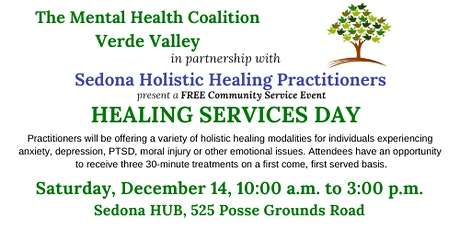 FREE Healing Services Day tickets