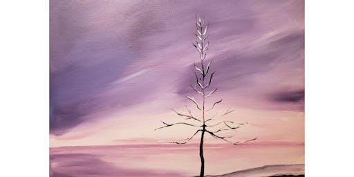 "Adult Open Paint (18yrs+) ""Winter Twilight"""