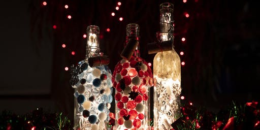 Lighted Wine Bottle Workshop