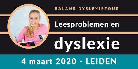 Balans Dyslexietour - Leiden tickets