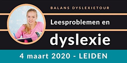 Balans Dyslexietour - Leiden