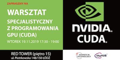 """WiT Łódź:  """"Programowanie na GPU - CUDA"""" (specjalistyczny)"""