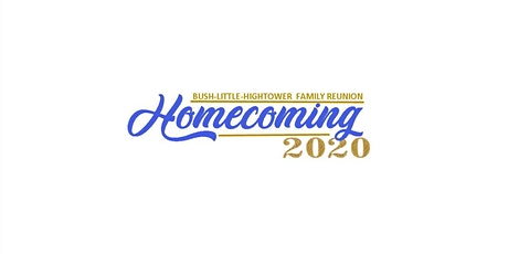BLH Family Reunion Homecoming 2020 tickets