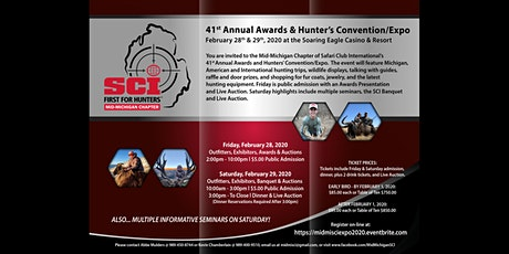 41st Anniversary Gala Mid-Michigan SCI Hunting Expo tickets