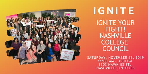 IGNITE your Fight: TN Regional College Council