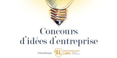 Gala | 18e édition du Concours d'idées d'entreprise billets