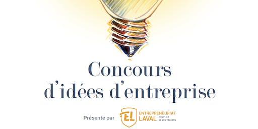 Gala | 18e édition du Concours d'idées d'entreprise