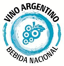 Vino Argentino Bebida Nacional logo