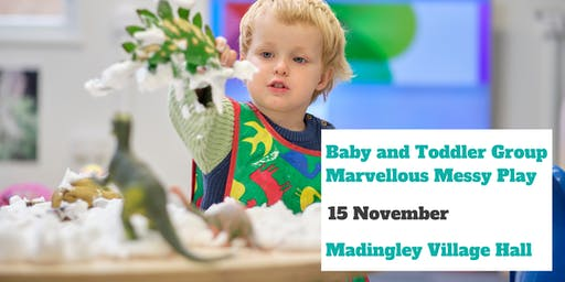 Baby and Toddler Group - Marvellous messy play
