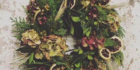 Christmas Wreath Workshop with Gunns Florist tickets