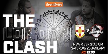 2020 London Clash - London Skolars v London Broncos XIII tickets