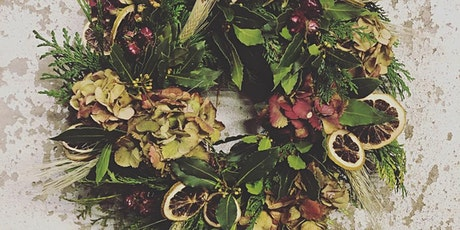 Christmas Wreath Workshop with Gunns Florist tickets