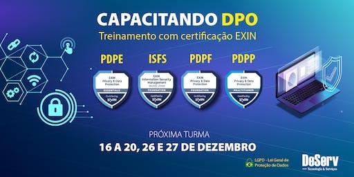 CERTIFICAÇÃO EXIN CAPACITAÇÃO DPO / LGPD   DEZEMBRO