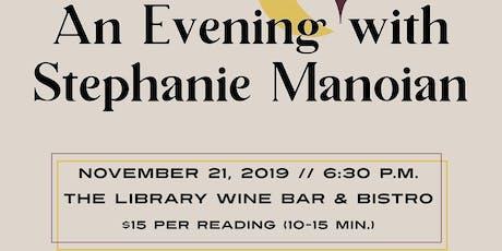 An Evening with Medium Stephanie Manoian tickets