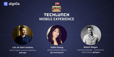 TechLunch #31: Mobile Experience