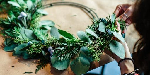 Wreath Making Workshop at Regent Arcade