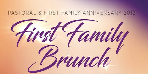 Salem Bible Church Pastoral Anniversary First Family Brunch