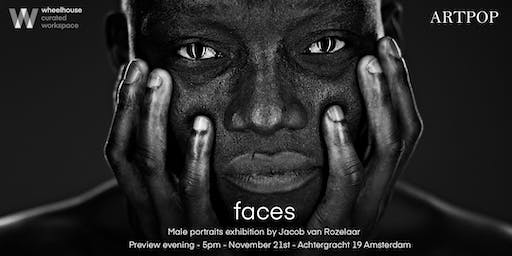 FACES - male portraits exhibition