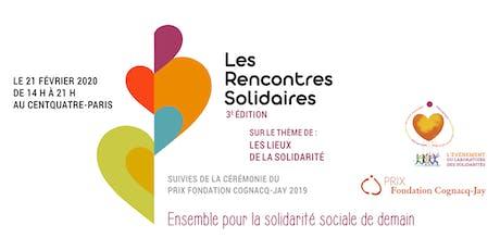 Les Rencontres Solidaires 3ème édition / Soirée Prix Fondation Cognacq-Jay billets