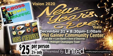 Vision 2020 New Year's Eve Gala tickets
