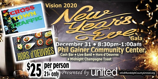 Vision 2020 New Year's Eve Gala