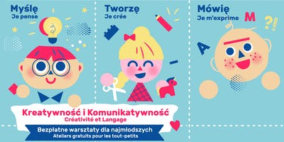 "Workshops for Kids ages 2-5:  ""Creativity and Communication"""