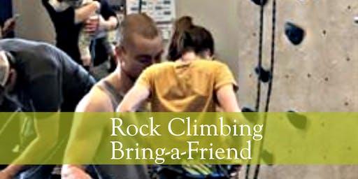 Indoor Rock Wall Climbing: Bring-a-Friend Special