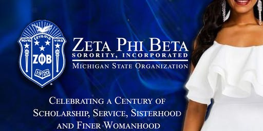 Zeta Phi Beta Sorority, Inc MSO 2020 Centennial Gala/Rededication Ceremony