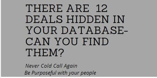 There's 12 Deals in Your Database - CAN YOU FIND THEM?!