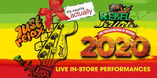 It's Courts Actually- Rebel Salute 2020 Live In-Store Performances