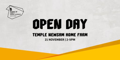 Land & Animal Science Open Event