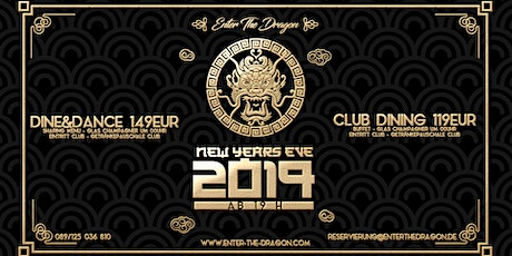 Enter The Dragon NYE 2019 Tickets
