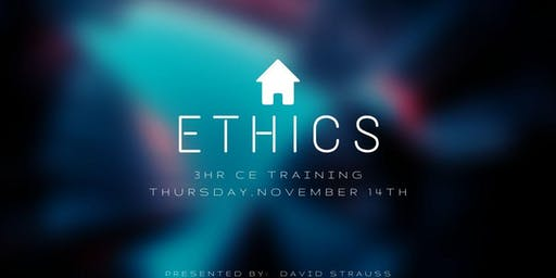 CE Class - ETHICS with David Strauss