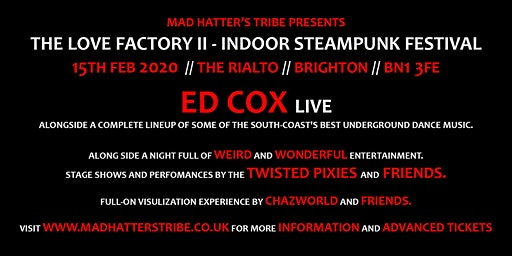 Ed Cox LIVE: The Love Factory II