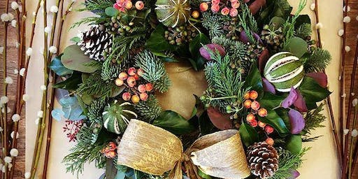 Christmas Wreath Workshop with Holly & the Ivy