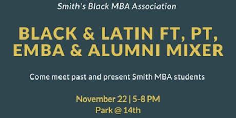 Black & Latin FT, PT, EMBA & Alumni Mixer tickets