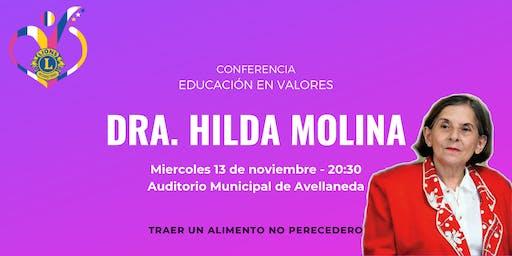 Conferencia Dra. Hilda Molina: Educación en Valores