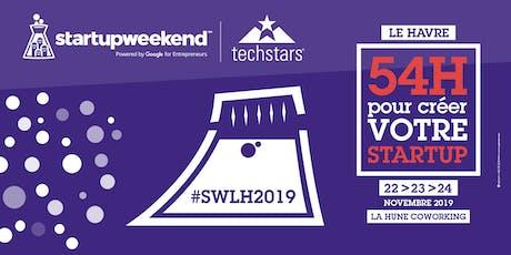 Techstars Startup Weekend Le Havre #6 billets