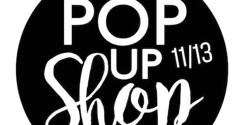 Sip And Shop Pop Up Shop