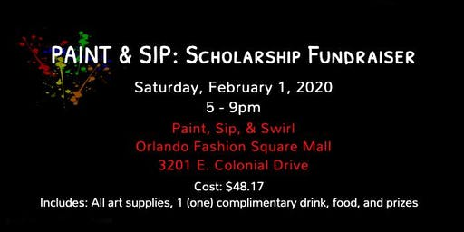 Paint and Sip: Scholarship Fundraiser