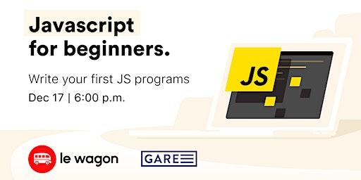 Le Wagon Workshop - JavaScript for beginners