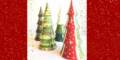 Christmas Pottery Painting at The Grateful Gnome (11/25)