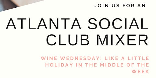 ASC Wine Wednesday Mixer