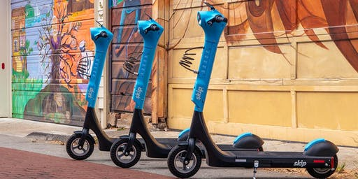 Skip Group Ride & Dinner - Be One Of The First To Try Our New Scooter!