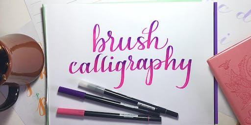 Brush Pen Calligraphy -- 1/18/20