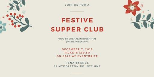 December festive comfort food supperclub