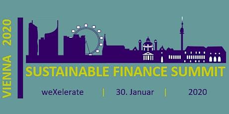 Sustainable Finance Summit Vienna 2020 Tickets