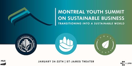 Montreal Youth Summit on Sustainable Business tickets