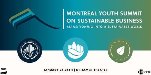 Montreal Youth Summit on Sustainable Business